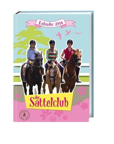 9783840122231: Sattelclub 17-Monats-Kalenderbuch 2014 A6
