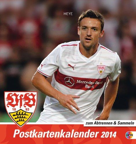9783840124617: VfB Stuttgart 2014 Sammelkartenkalender