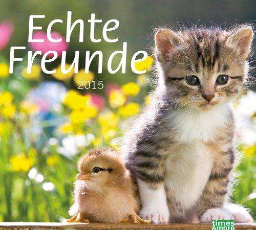 9783840131387: times & more Echte Freunde Bildkalender 2015
