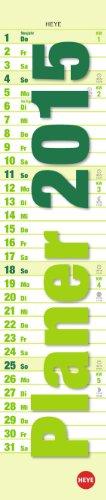 9783840132193: Planer mini-long grün 2015