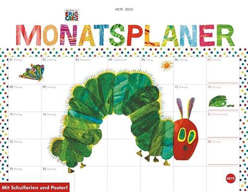 9783840133800: Raupe Nimmersatt Monatsplaner