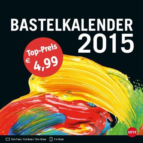 9783840134265: Bastelkalender 2015 klein schwarz