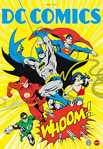 9783840134678: DC Comics Posterkalender 2015
