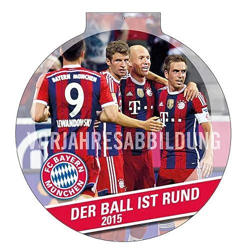 9783840135736: FC Bayern München 2016 Der Ball ist rund
