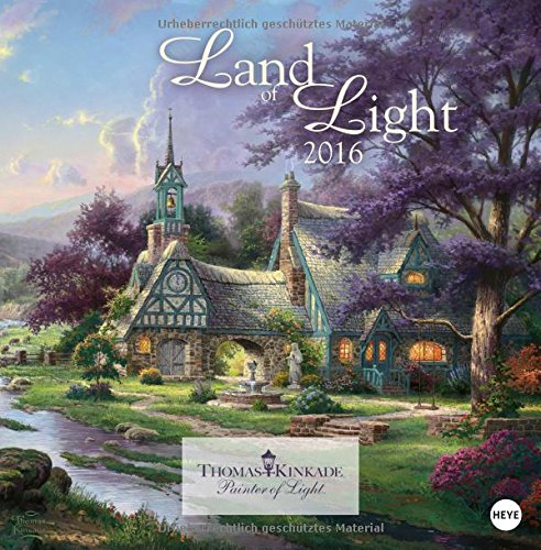 9783840135873: Land of Light Broschurkalender 2016