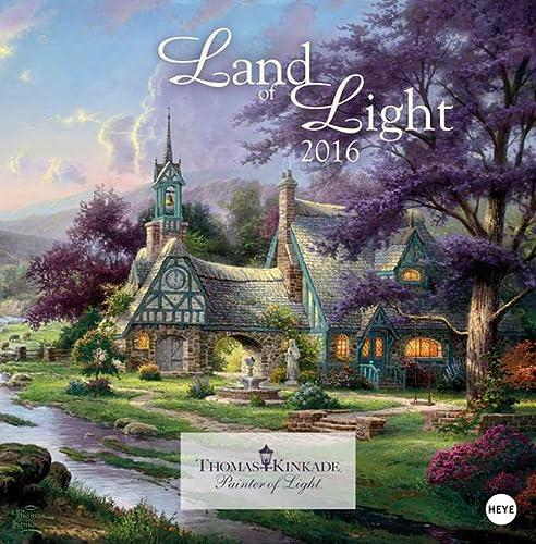 9783840135873: Land of Light Broschurkalender 2016