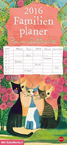 9783840136917: Rosina Wachtmeister Familienplaner 2016