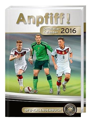9783840137075: DFB 17-Monats-Kalenderbuch A6 2016