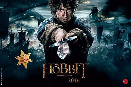 9783840137662: Der Hobbit Broschurkalender XL 2016
