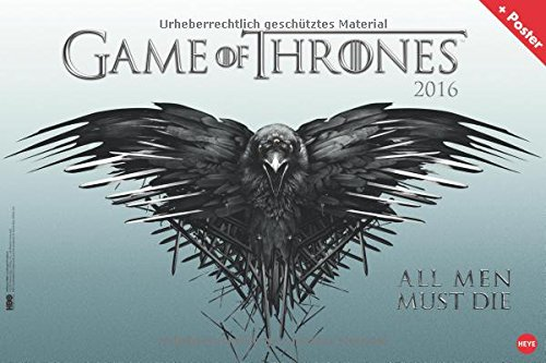 9783840138171: Game of Thrones 2016 Broschurkalender XL