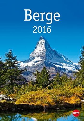 9783840139314: Berge 2016