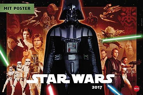 9783840141607: Star Wars Broschur XL - Kalender 2017