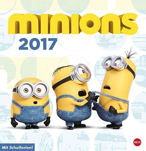 9783840142253: Minions Posterkalender 2017 quadratisch