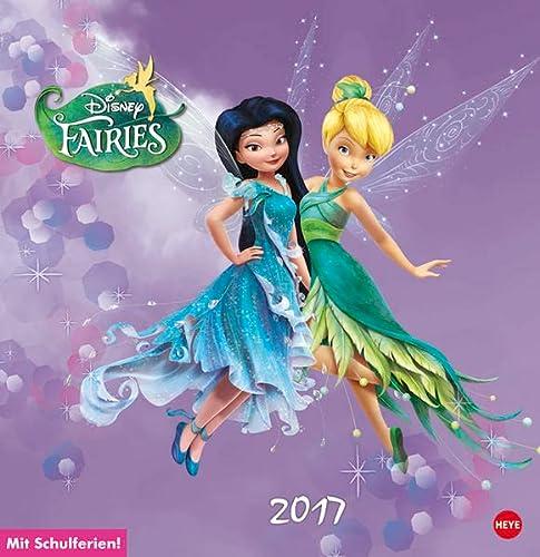 9783840142277: Disney Fairies Posterkalender 2017