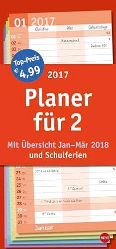9783840143793: Planer für zwei Basic 2017