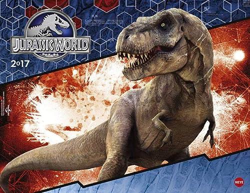 9783840147838: Jurassic World Posterkalender - Kalender 2017