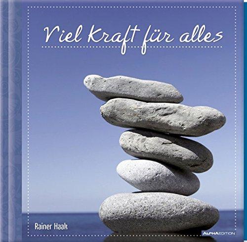 9783840707032: Geschenkbuch - Viel Kraft für alles - (16 x 16,5)