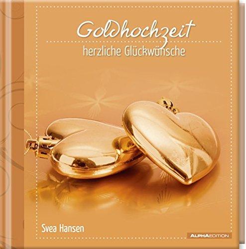 9783840727252: Geschenkbuch - Goldhochzeit - herzliche Glückwünsche