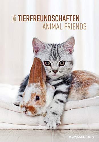 9783840742064: Tierfreundschaften Bildkalender 2014