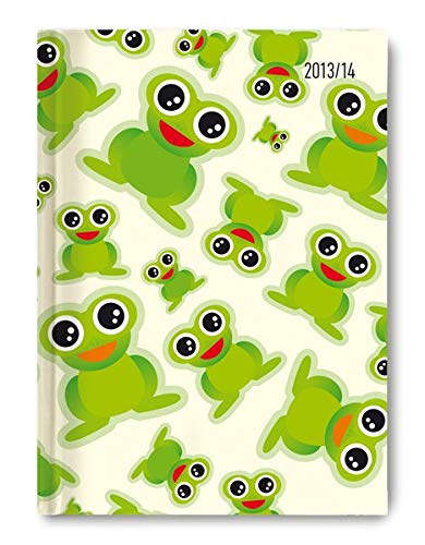 9783840746451: Collegetimer A5 Frogs 2013/2014