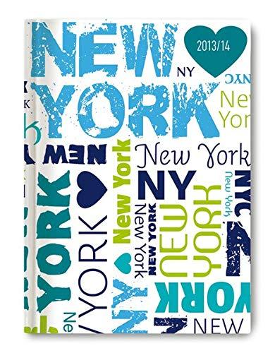 Collegetimer - Schülerkalender A6 New York 2013/2014 - Alpha Edition