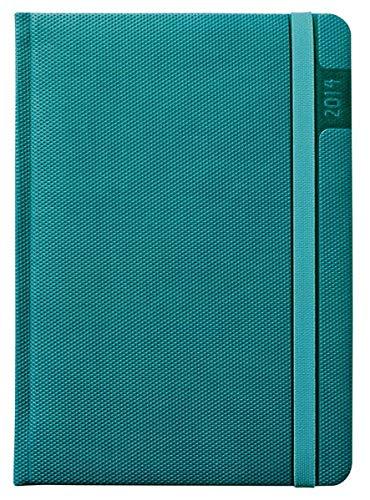 9783840747304: Wochen-Buchkalender Blue Line Agenda 2014 New Yorrk t�rkis