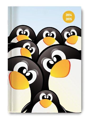 9783840756580: Collegetimer A5 Penguin 2014/2015