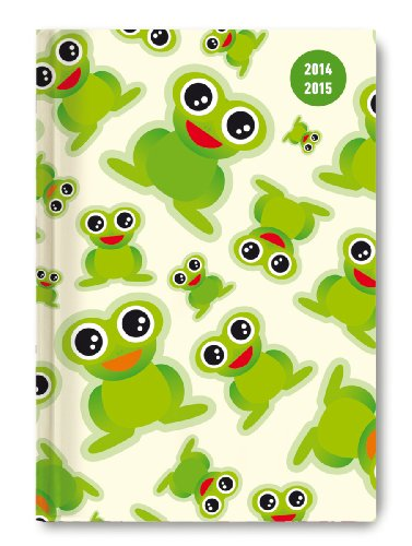 9783840756658: Collegetimer A6 Frogs 2014/2015