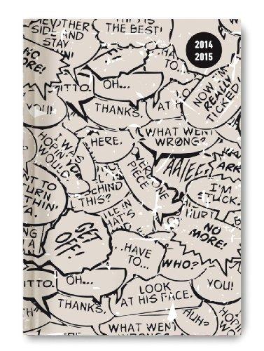 9783840757143: Collegetimer Comic 2014/2015 - Schülerkalender A5 - Day By Day - 352 Seiten