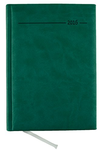 9783840760457: Buchkalender Tucson Turquoise 2016 - Bürokalender türkies A5 / Cheftimer A5 - 1 Tag 1 Seite - 352 Seiten