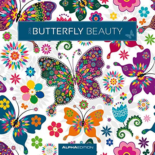 9783840761270: Butterfly Beauty 2016 - Brosch�renkalender