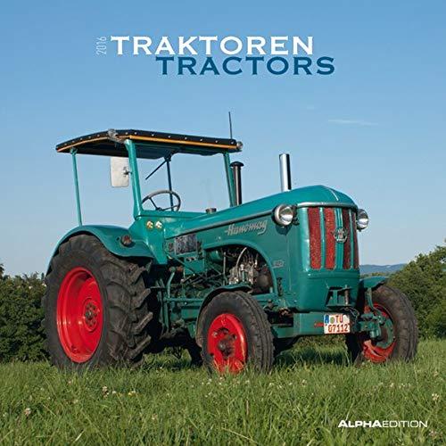 9783840761300: Traktoren 2016 - Tractors -Treckerkalender / Broschürenkalender (30 x 60 geöffnet) - Autokalender - Fahrzeuge - Wandplaner