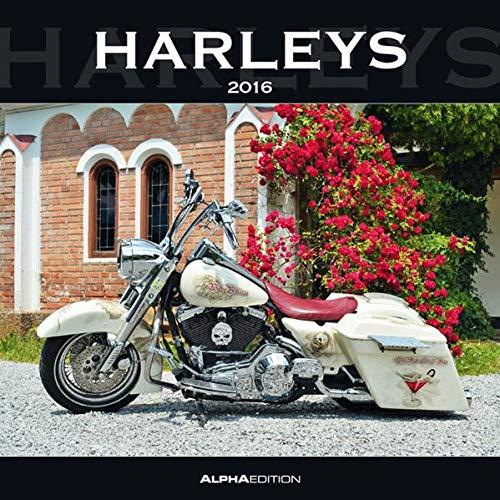9783840761324: Harleys 2016 - Broschürenkalender (30 x 60 geöffnet) - Motorradkalender - Fahrzeuge - Wandplaner