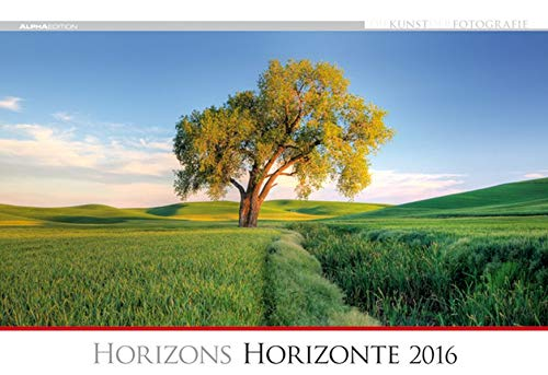 9783840763403: Die Kunst der Fotografie - Horizonte 2016 - Bildkalender quer (50 x 34) - Landschaftskalender - Naturkalender