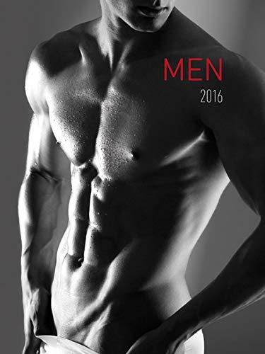 9783840764080: Men 2016 - M�nner - Bildkalender (42 x 56) - schwarz/wei� - Erotikkalender