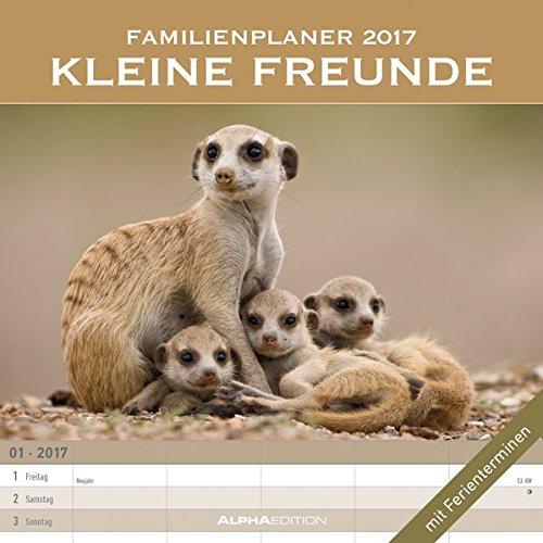 9783840771224: Familienplaner Kleine Freunde 2017 - Broschürenkalender