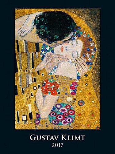 9783840774140: Gustav Klimt 2017 - Bildkalender - Silberfolienprägung - (42 x 56)