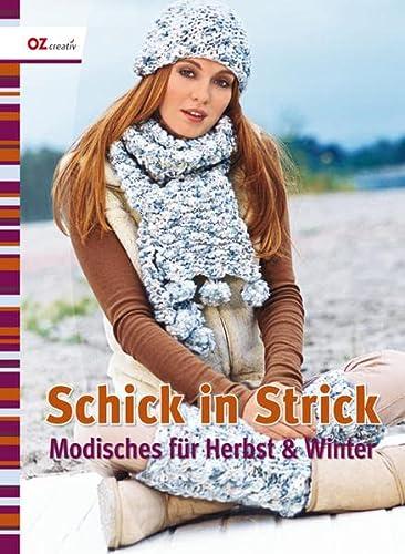9783841060006: Schick in Strick: Modisches für Herbst und Winter