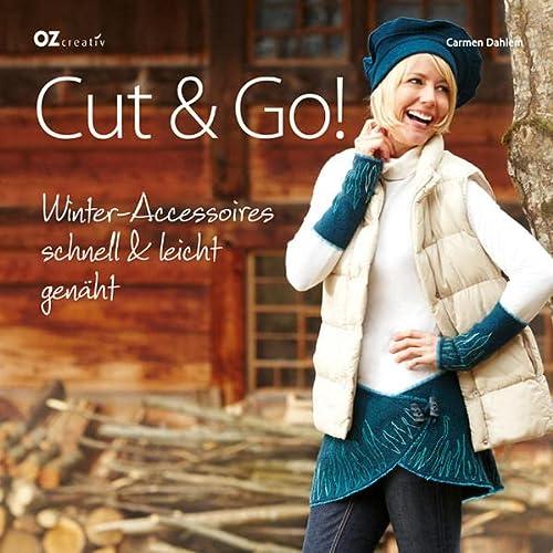 9783841060785: Cut & Go!: Winter-Accessoires schnell & leicht genäht