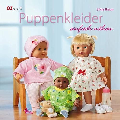 9783841061096: Puppenkleider einfach nähen