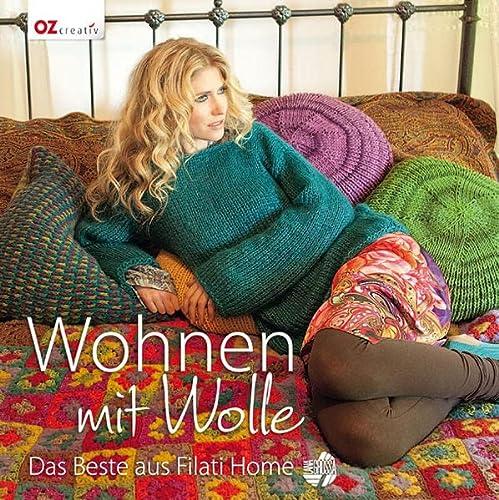 9783841061959: Wohnen mit Wolle: Das Beste aus Filati Home