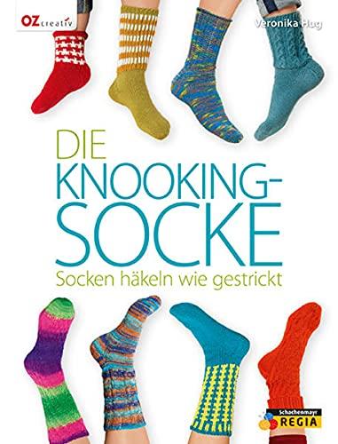 9783841063205: Die Knooking-Socke: Socken häkeln wie gestrickt