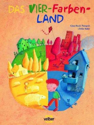 9783841100122: Das Vier-Farben-Land