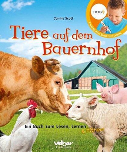 9783841101051: TING: Tiere auf dem Bauernhof: Ein Buch zum Lesen, Lernen und Hören