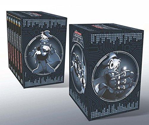9783841340368: Lustiges Taschenbuch Ultimate Phantomias Box Band 1 - 6 mit Figur: Die Chronik eines Superhelden