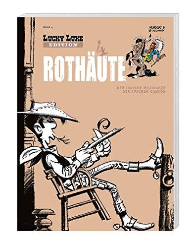 9783841362049: Lucky Luke Edition 04 Roth�ute: mit Figur