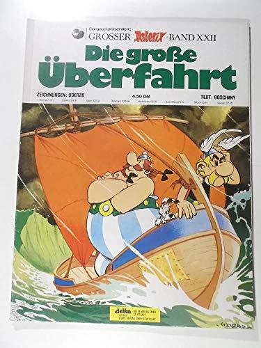 9783841364227: Asterix 22: Die gro�e �berfahrt KT