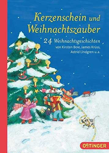 Kerzenschein u. Weihnachtszauber 24 Weihnachtsgeschichten: Kirsten, Boie und