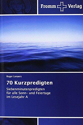 70 Kurzpredigten: Lenaers, Roger