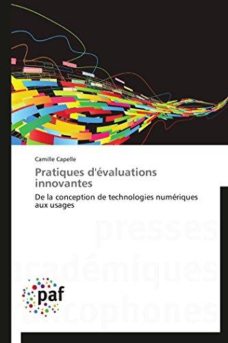 Pratiques DEvaluations Innovantes: Camille Capelle